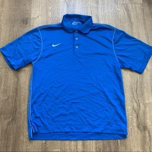 Nike Dri Fit Golf Polo sz M